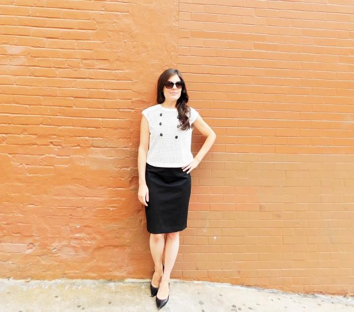 furbished fashion white shirt 10